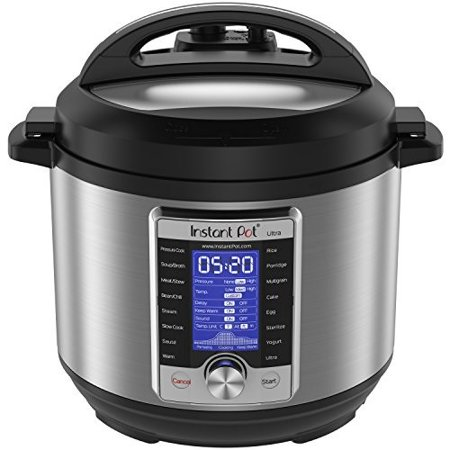 Instant Pot Ultra 6 Qt 10-in-1 Multi- Use Programmable Pressure Cooker, Slow Cooker, Rice Cooker, Yogurt Maker, Cake Maker, Egg Cooker, Saute, Steamer, Warmer, and Sterilizer