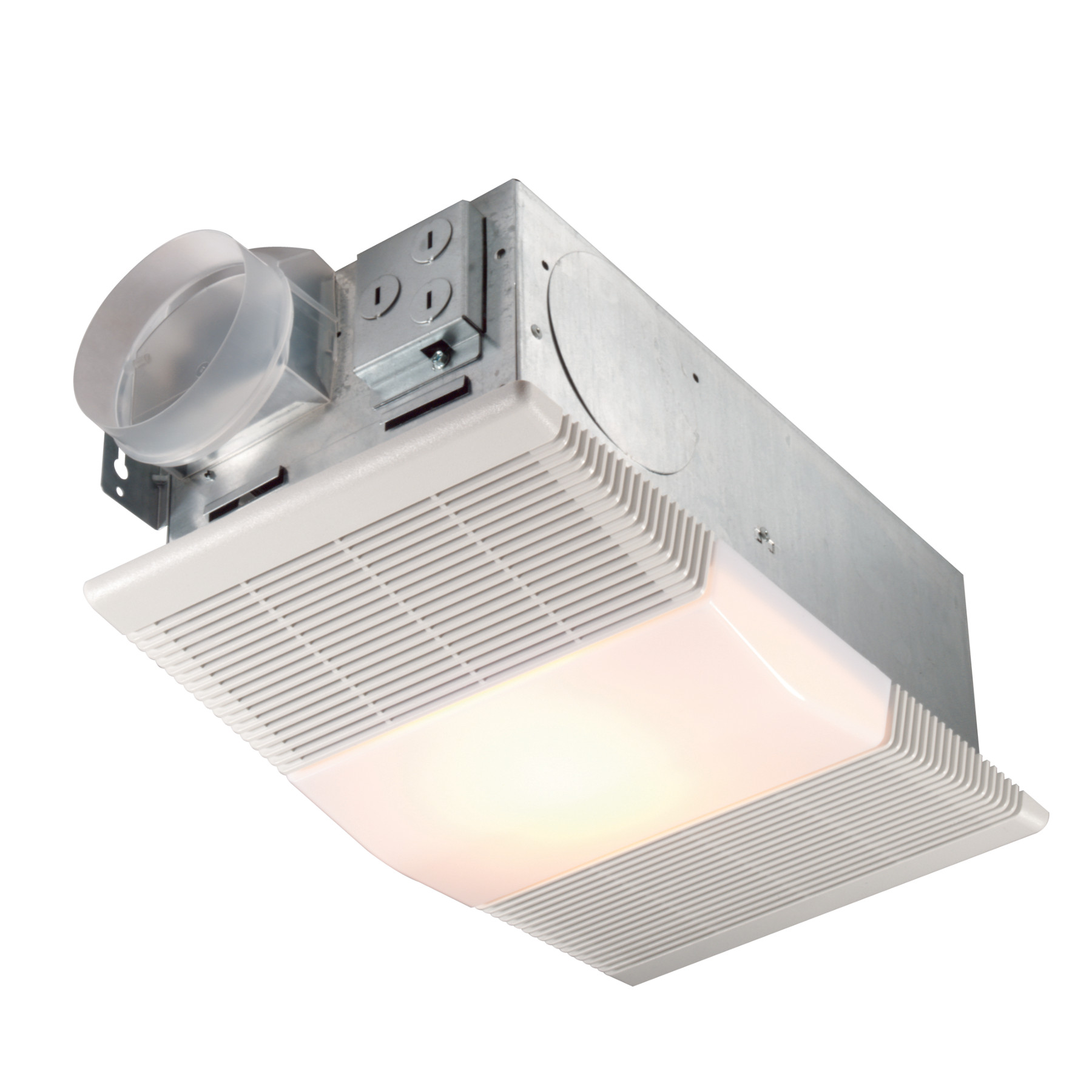 Ventilation Fan With Heater And Light, Bathroom Vent Fan With Heater