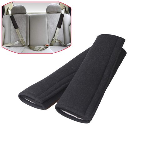 2pcs Car Safety Seat Belt Shoulder Pads Cover Cushion Harness Comfortable Pad (Shoulder Harness Pads)