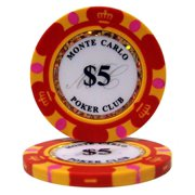 """""""Roll of 25 $5 Monte Carlo 14 Gram Poker Chips"""" by BryBelly"""