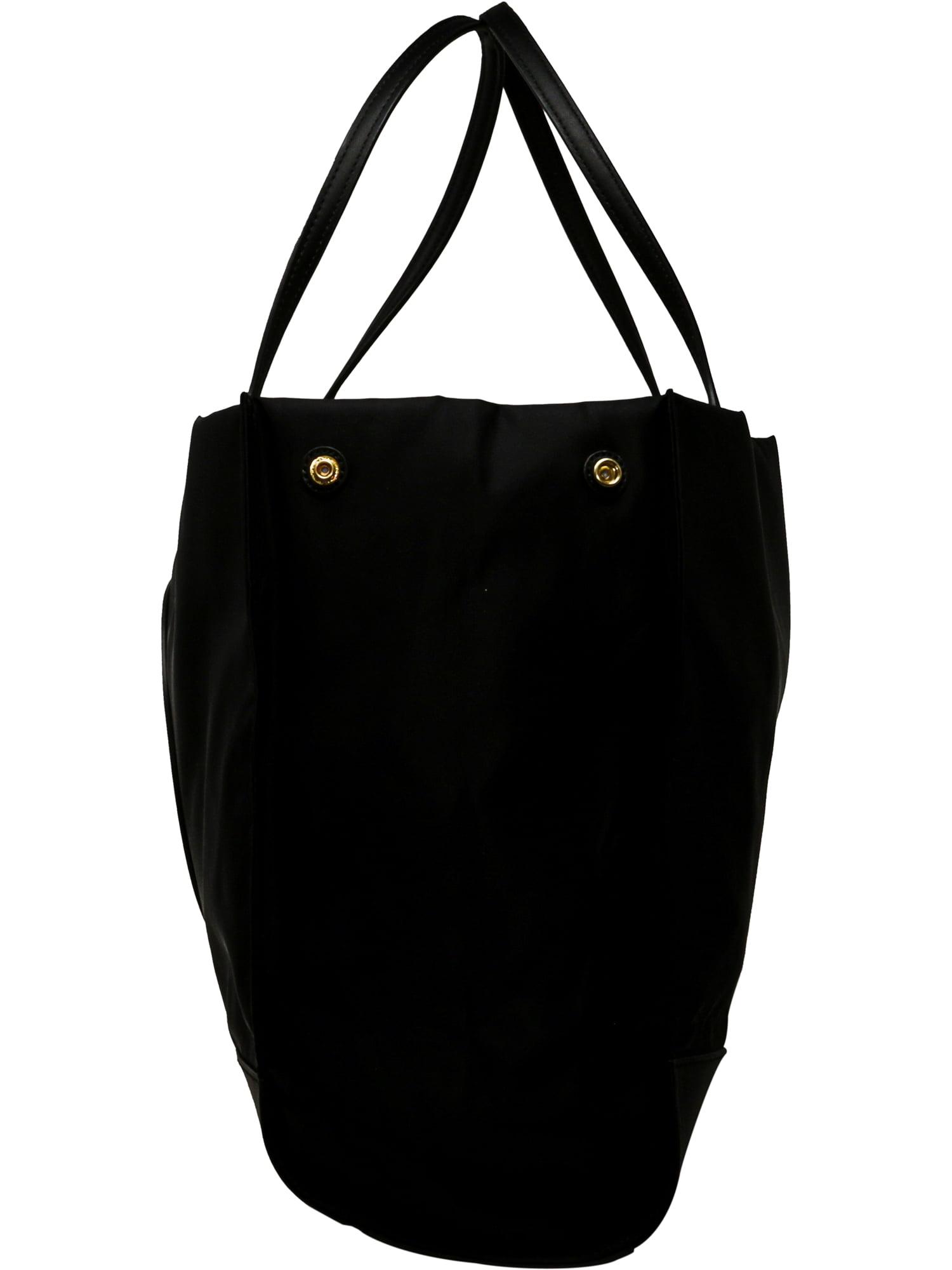 0bc7e76a762c Tory Burch - Tory Burch Women s Ella Nylon Top-Handle Bag Tote - Navy -  Walmart.com
