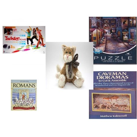Children's Gift Bundle [5 Piece] -  Twister Moves (Featuring Jesse Mccartney)  - Paris At Night   - Boyd's Bears