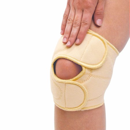 Therapy Knee Wrap (Massaging Compression Knee Support Therapy Wrap)