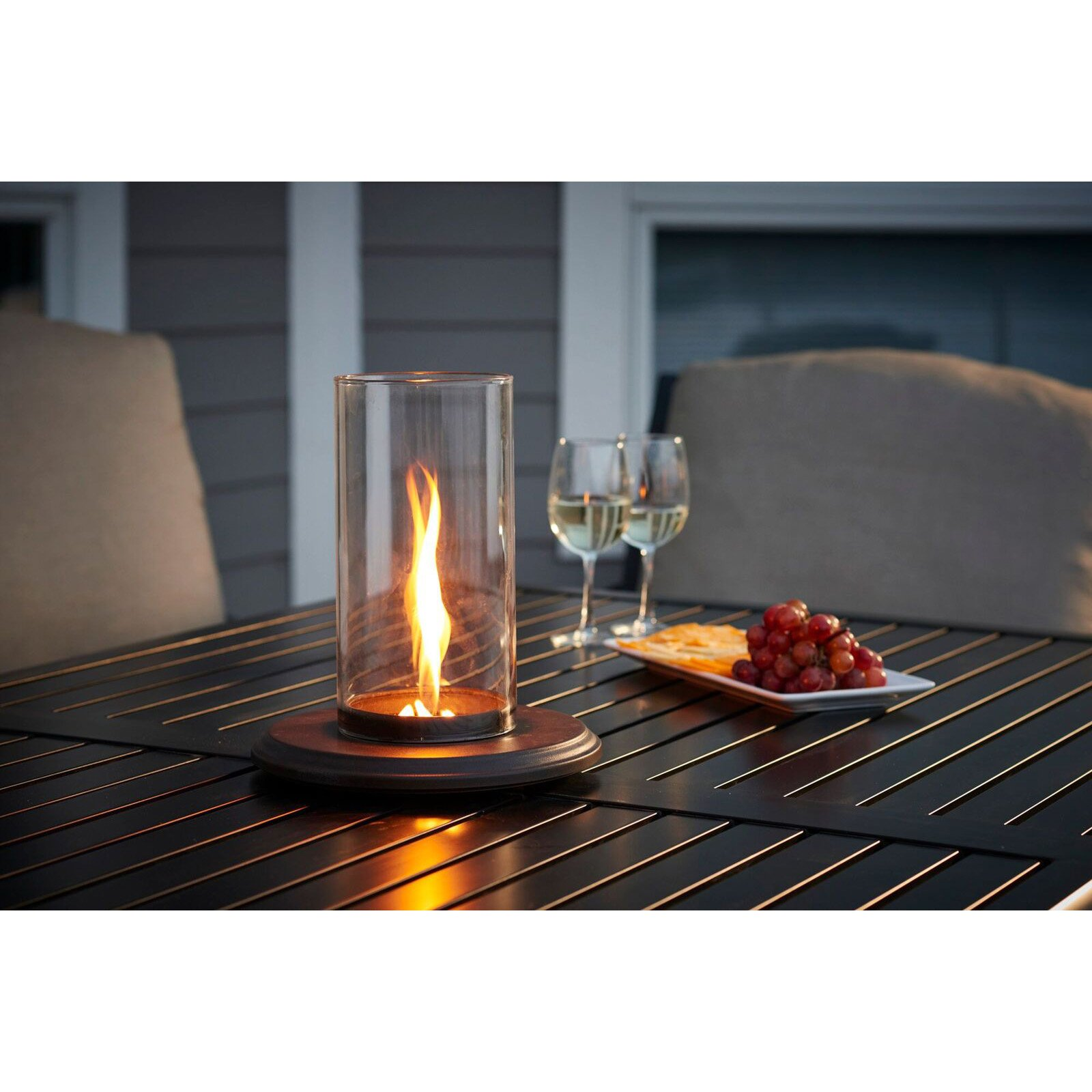 Outdoor GreatRoom Intrigue 10 diam. Tabletop Fire Pit