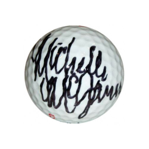 Michelle McGann Autographed Golf Ball
