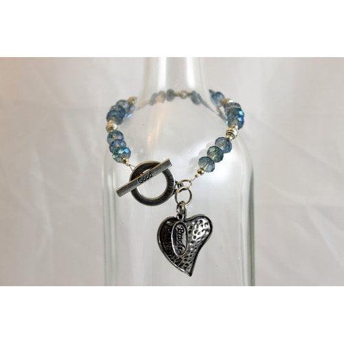 Praols Story Bracelets Life is Good Glass Bead Bracelet