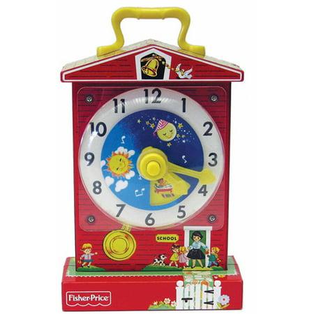 Fisher Price Classics Music Box Teaching Clock ()