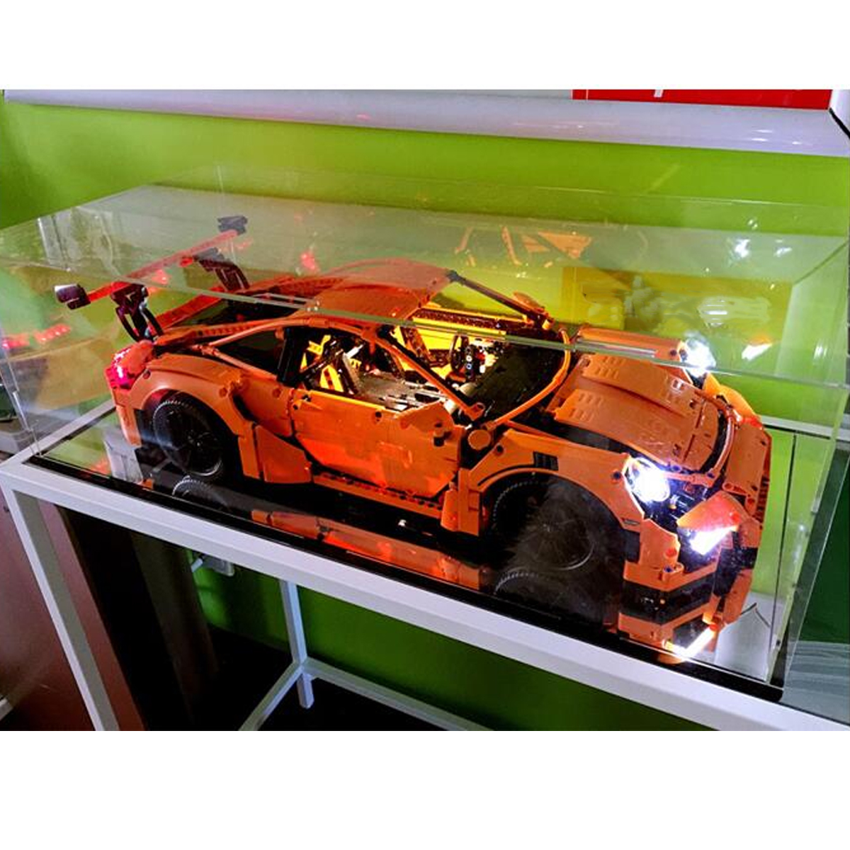 Australia TopRated Seller Custom display case for Lego Porsche 911 GT3 RS 42056