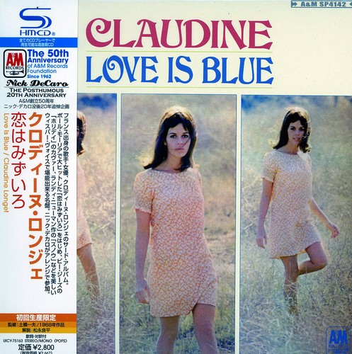 Claudine Longet - Love Is Blue [CD]