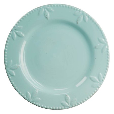 Aqua 11 in. Dinner Plate - Set of 6 ()