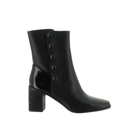 Lori Goldstein Collection Mid Shaft Stacked Heel Boot