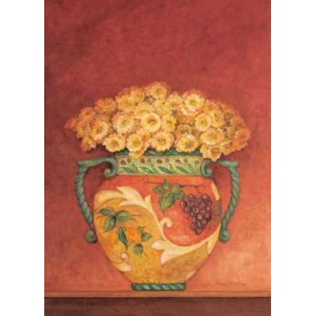 Pamela Gladding Tuscan Bouquet - Posterazzi Tuscan Bouquet I Canvas Art - Pamela Gladding (20 x 28)