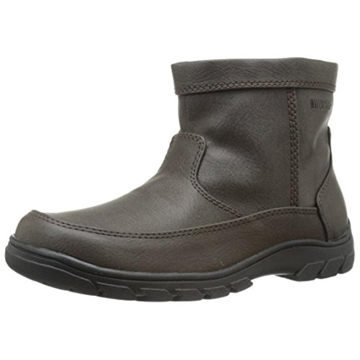 Florsheim Boys Trektion Faux Leather Waterproof Winter Boots by Florsheim