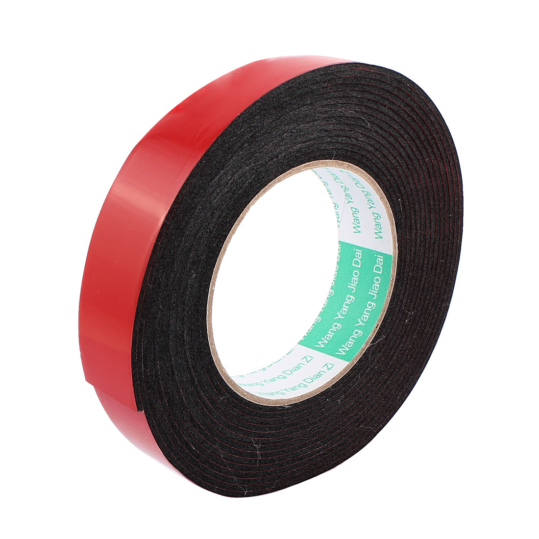 2.5CM Width 5M Length 2MM Thick Dual Sided Sealing Shockproof Sponge Tape