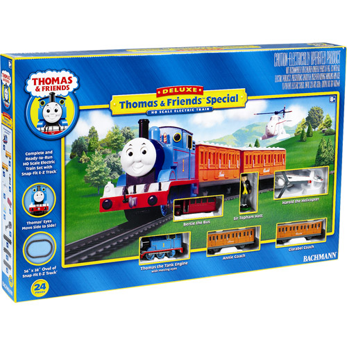 Bachmann HO Scale Train - Thomas with Annie and Clarabel Deluxe Train Set