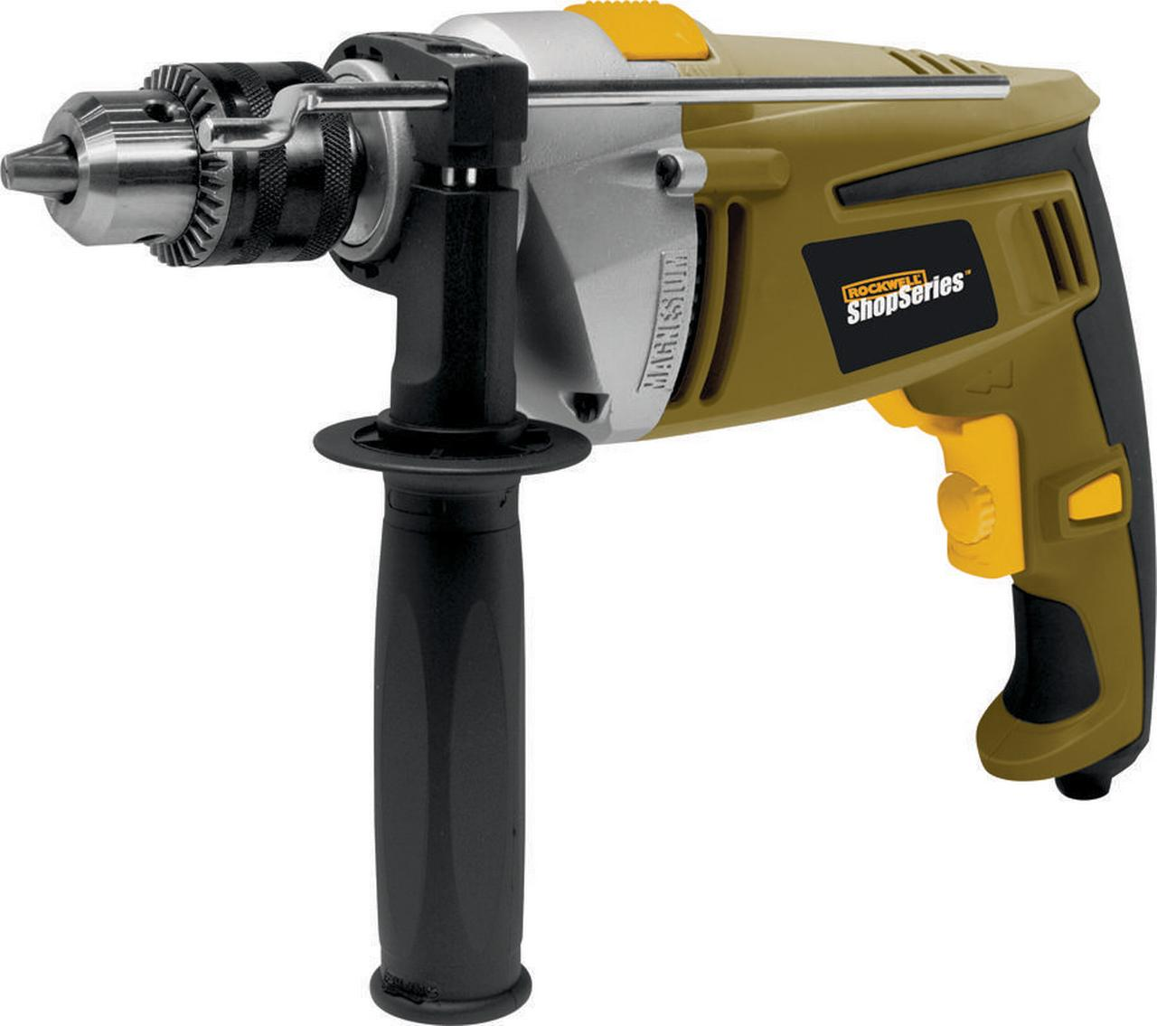 "Rockwell ShopSeries 7 Amp 1 2"" Hammer Drill by Positec Technology"