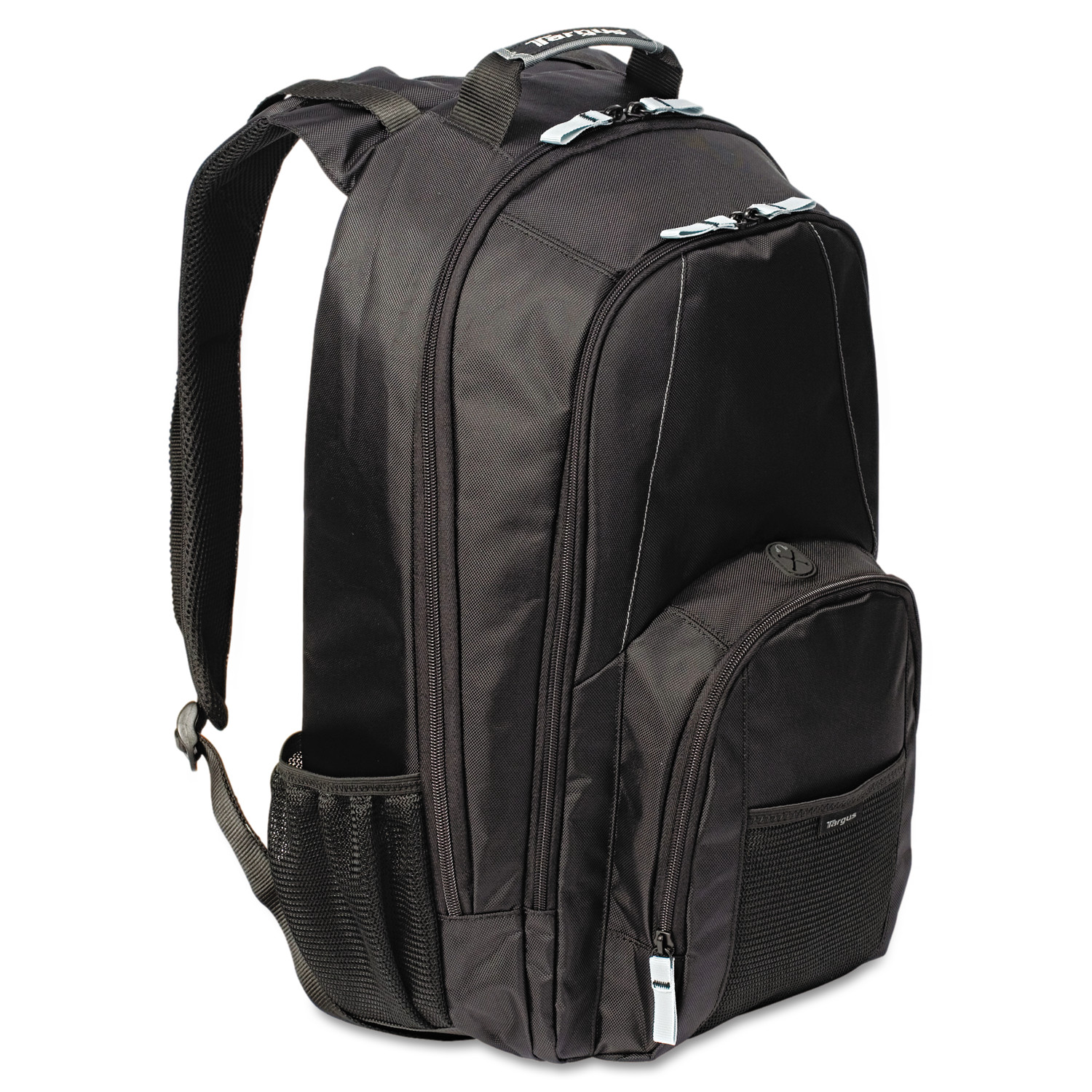 "Targus 17"" Groove Laptop Backpack, Book Storage, Media Pocket, Water Bottle Holders"