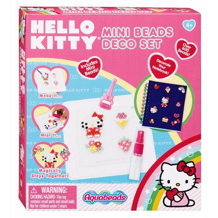 Aquabeads hello kitty mini beads deco se - Deco chambre hello kitty ...
