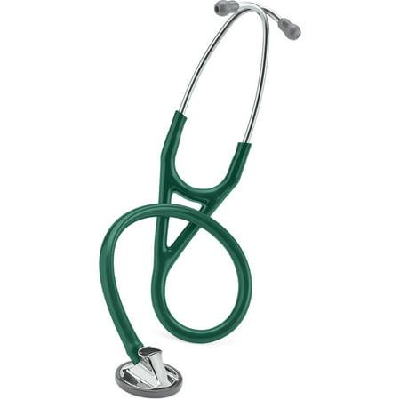 - 3M Littmann Master Cardiology Stethoscope, Hunter Green Tube, 27 inch, 2165