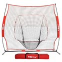 Ollieroo 7'x7' Baseball & Softball Practice Net for Hitting, Pitching
