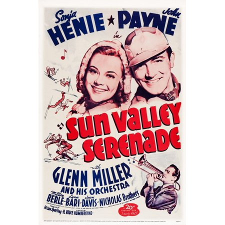 20th Century French Art - Sun Valley Serenade Us Poster Art From Top Sonja Henie John Payne Glenn Miller 1941 Tm And Copyright 20Th Century Fox Film Corp All Rights ReservedCourtesy Everett Collection Movie Poster Masterprint