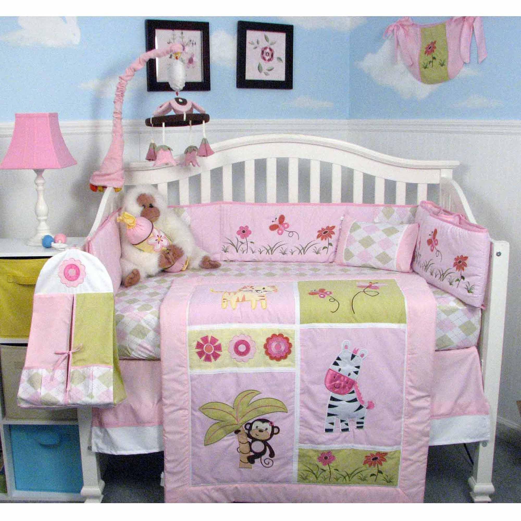 Soho Jelly Bean Jungle Nursery Beddng Set