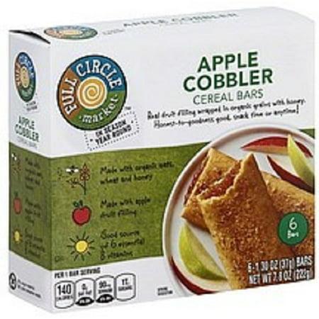 Full Circle Apple Cobbler Cereal Bars - Apple Cobbler Easy