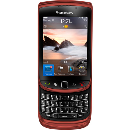 BlackBerry Torch 9800 GSM Cell Phone, Red (Unlocked)