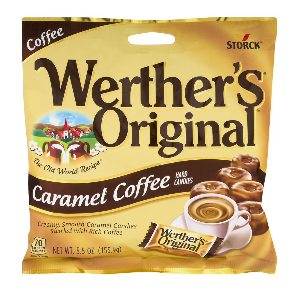 Werther's Original Hard Candies Caramel Coffee, 5.5 OZ