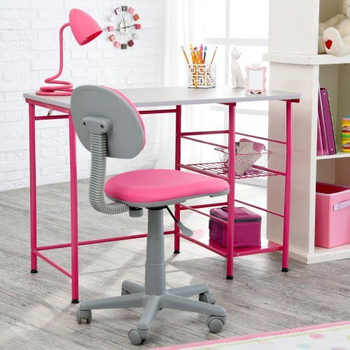Study Zone Ii Desk Amp Chair Pink Walmart Com