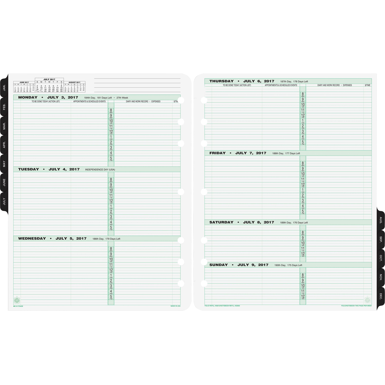 Day-Timer Original Planner Folio Size Refill