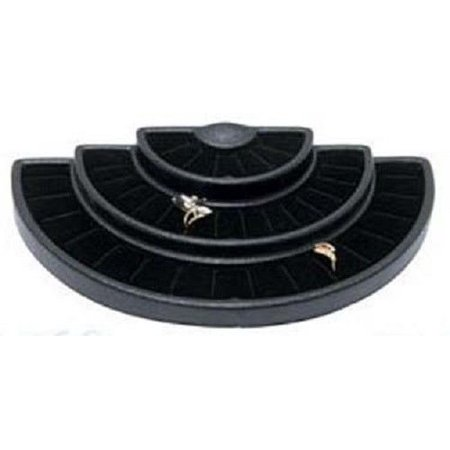 Black 36 Slot 3 Tier Ring Display Jewelry Stand Foam Insert by, 36 Slot 3 Tier Black Ring Display Foam Jewelry Stand This is a 3 tier black ring display.., By usa best
