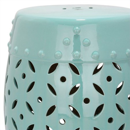 Excellent Safavieh Lattice Coin Ceramic Garden Stool In Robbins Egg Blue Alphanode Cool Chair Designs And Ideas Alphanodeonline