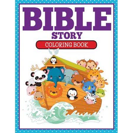 Bible Story Coloring Book - Walmart.com
