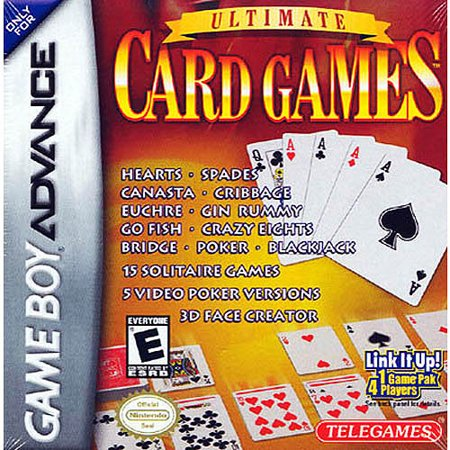 Ultimate Card Games (GBA) (Best Gba Games List)
