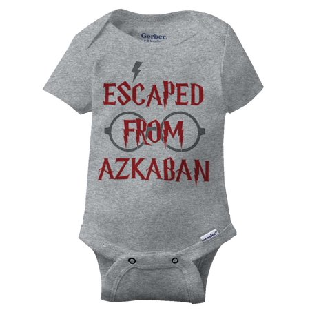 09f081bfc Escape From Azkaban Funny Shirt Cool Gift Cute Harry Potter Gerber ...