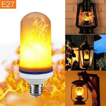 Spencer E27 LED Burning Light Flicker Flame Light Bulb Fire Effect Simulated Decorative Lamp