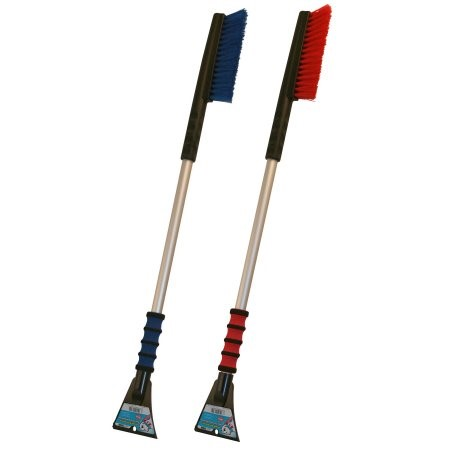 """Mallory 996-35 Maxx Snow Brush With Foam Grip And Alum Handle 35"""""""