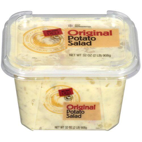 Walmart Deli Red Skin Potato Salad, 4 Lb   Walmart.com