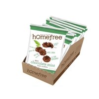 Homefree Treats You Can Trust Gluten Free Mini Cookie Bag, Chocolate Mint, 0.95 Ounce (Pack of 10)
