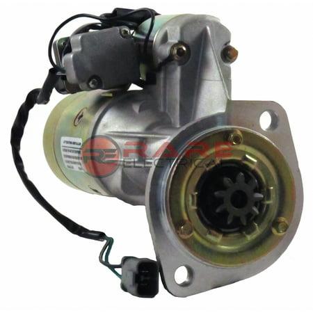 NEW 24V STARTER MOTOR FITS KOMATSU EG60B EG60BS-1 SD25 6D95L 4D95S  0-23000-0452