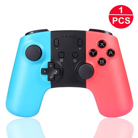 Wireless Switch Pro Controller for Nintendo Switch/Switch Lite Pro Controller Gamepad, EEEkit 2PC/1PC Dual Shock Switch Remote Joypad Control Games Joystick for NS Switch/Switch Lite Console Joystick 8 Way Hat Switch