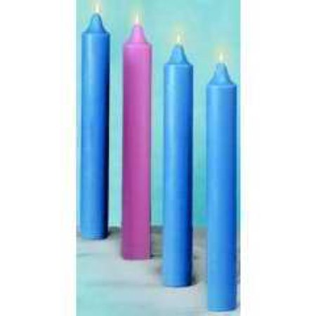 Candle Advent Church Set 12 X 1 2 51 Beeswax 3 Blue Pink