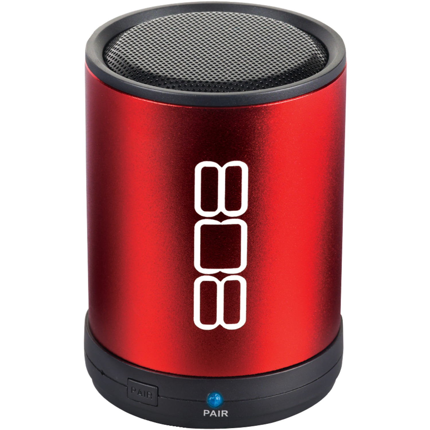 808 Audio SP880RD CANZ Bluetooth Portable Speaker (Red)