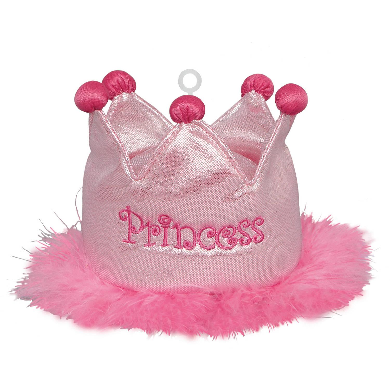Plush Princess Crown Balloon Weight