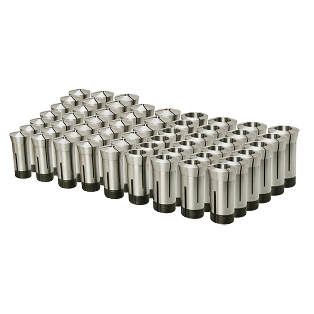 """15 pc 1/8'' to 1'' 5C ROUND Collet Set by 16ths Harden Machinist Tool .0006"""" TIR"""
