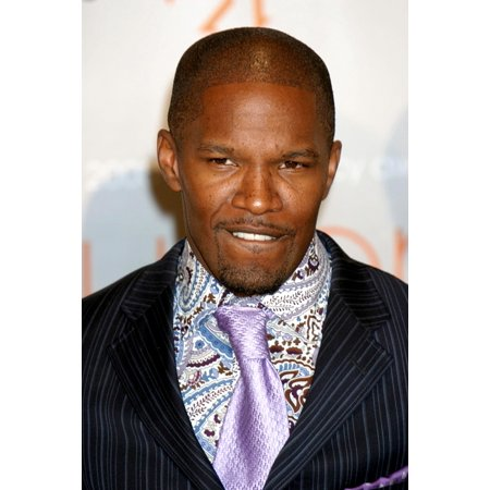 Jamie Foxx At Arrivals For The 2005 Crystal  Lucy Awards Beverly Hilton Hotel Los Angeles Ca June 10 2005 Photo By James AtoaEverett Collection Celebrity