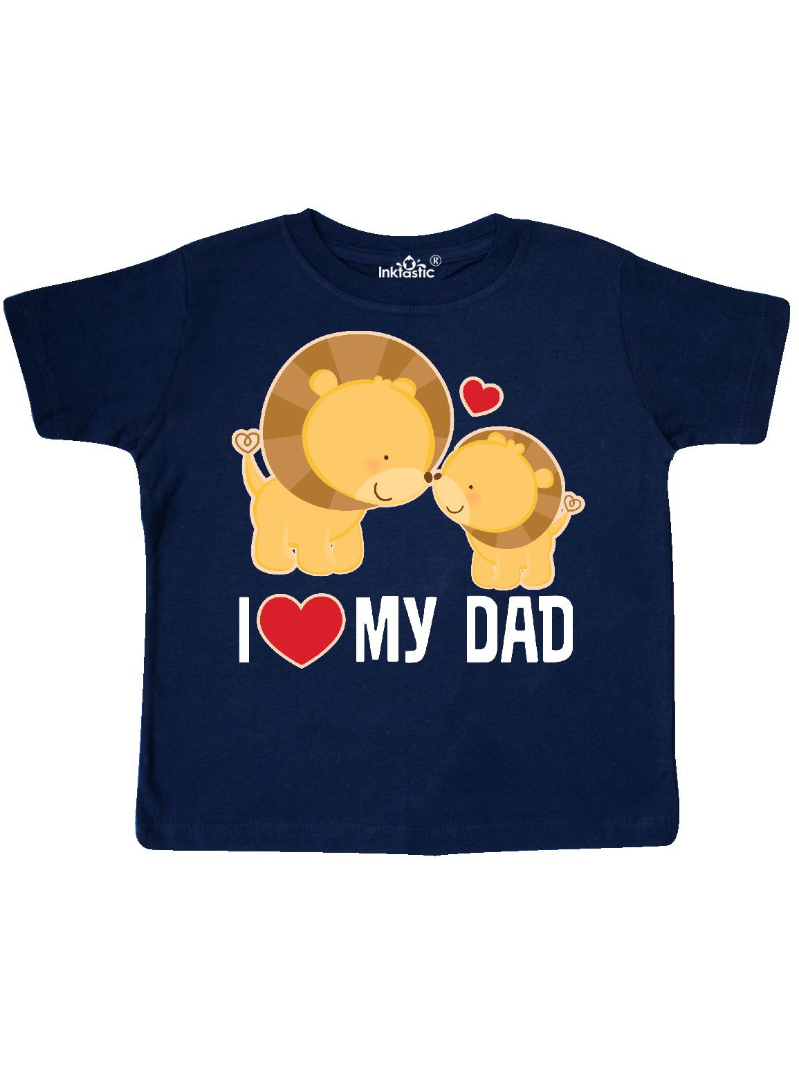 inktastic I Have The Best Dad in The World Baby T-Shirt