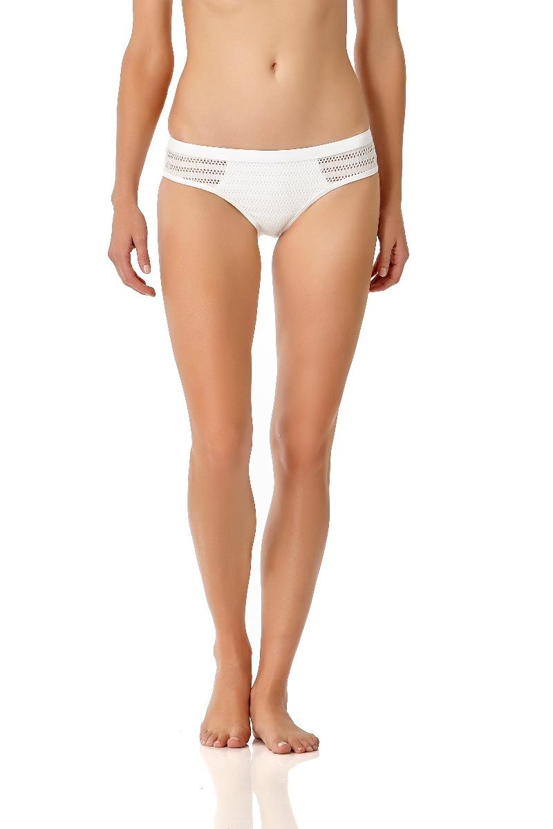 Anne Cole Women's Crochet All Day Bikini Swim Bottom