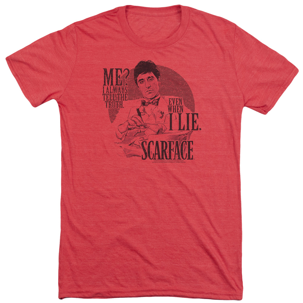 Scarface Truth Mens Tri-Blend Short Sleeve Shirt